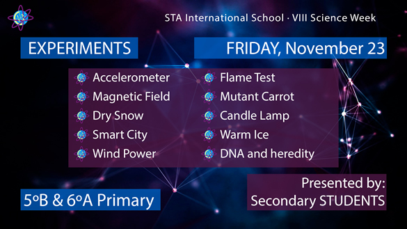 STA International School VIII Science Week